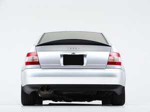 ES#4159609 - 007721LA01 - Audi B5 S4/A4 Trunk Spoiler - Gloss Black - Add some aggressive styling to your Audi! - ECS - Audi