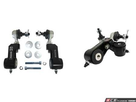 ES#4213074 - 70-510100 - MAXX-G High Performance Rear Sway Bar Link Kit Billet Aluminum - Heavy Duty Adjustable Gen 3 MINI Cooper | BMW X1 & X2 - Stock Set Up - Features forged alloy steel sealed and permanently lubricated OEM style ball stud & socket ends for easy installation - M7 Speed - MINI