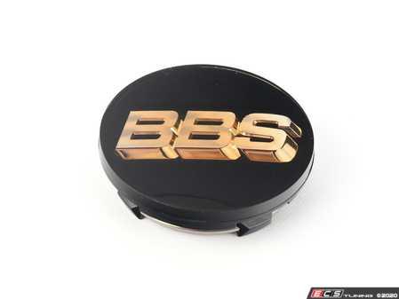 ES#3673446 - 56.24.119 - BBS Center Cap 70.6mm - Black/Gold - BBS - BMW