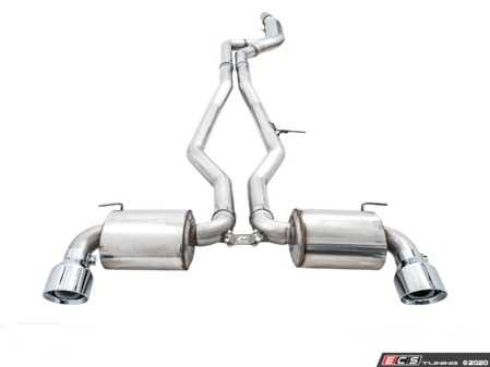 ES#4213188 - CHR-EXH-TA90SUPR - AWE Exhaust System For A90 Supra - Chrome Silver Tips - Chrome Silver Tips - Choose from Track, Resonated Touring, and Non-resonated Touring. - AWE - BMW
