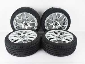 """ES#4213235 - 349asd6KT - 18"""" Style 349 Wheels W/ Ironman IMove Gen 2 AS Tires - Set of Four *Scratch & Dent* - *Please see description prior to ordering* 18x8"""" ET45 5x112 - Alzor - Audi Volkswagen"""