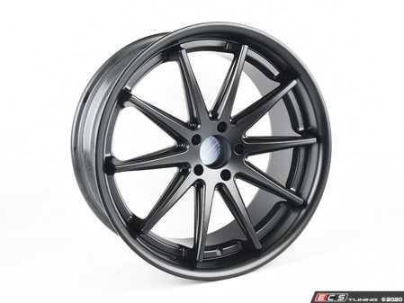 """ES#4213497 - RC10+110140666KT - 20"""" RC10 Wheel & Tire Package - 255/45R20 - 20""""x9"""" ET35 5x112 - Matte Black - With Yokohama ADVAN Sport A/S+ Tires - Assembled By ECS - Audi"""