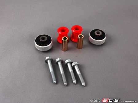 ES#7264 - 1J0498003 - Polyurethane Control Arm Bushing Kit - Includes all control arm bushings and necessary hardware - ECS - Volkswagen