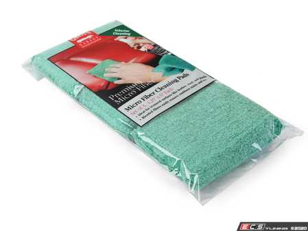 ES#4164113 - 11242 - Microfiber Cleaning Pads - Set of 3 - We've taken our soft, absorbent microfiber cloth and used a polypropylene fiber to give it more cleaning power. - Griot's - Audi BMW Volkswagen Mercedes Benz MINI Porsche