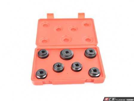 ES#4028144 - CTA7995 - 7 PC.Low Profile Oil Filter Socket Set ( 24mm-36mm ) - Packed in blow mold case. - CTA Tools - Audi BMW Volkswagen Mercedes Benz MINI Porsche