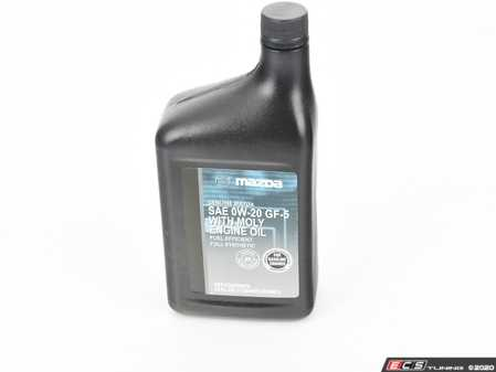 ES#3610296 - 000g50w20mq - 0w-20 Genuine Oil - Genuine Mazda -