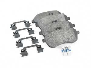 ES#2609361 - 0054201220 - Front Brake Pad Set - Includes shims and all hardware needed for installation - Pagid - Mercedes Benz