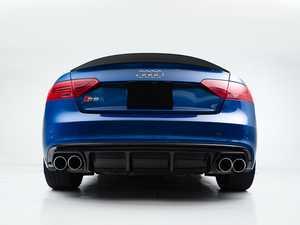 ES#4070070 - 006241LA01 - Audi B8.5 S5 / A5 S-Line Rear Diffuser - Gloss Black - Add some aggressive styling to your Audi! - ECS - Audi