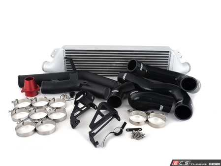 ES#4033458 - 023622ECS02-02KT - MK6 GTI Front Mount Intercooler Kit - With ECS Charge Pipes - Bolt on up to +9 WHP / +10 WTQ and lower intercooler outlet temps by 66 F with our In-House Engineered FMIC Kit! - ECS - Volkswagen