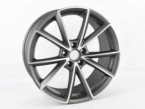 "ES#4220031 - 654-3SD3 - 19"" Style 654 - Single Wheel - *Scratch And Dent* - *Please see description prior to ordering* 19""x8.5"" ET42 5x112 - Gunmetal/Machine Face - Alzor - Audi MINI"
