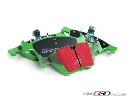 ES#519848 - DP21493 - Front GreenStuff Performance Brake Pad Set - Mildly upgraded pad, great for an afternoon of sporty driving. - EBC - BMW