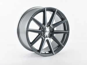 "ES#3970252 - F27188510HGM40SD - 18"" F27 Priced Each - *Scratch And Dent* - 18""x8.5"" ET40 5x100/5x114.3 - Machined Gunmetal *Please see description prior to ordering.* - F1R Wheels - Audi Volkswagen"
