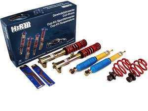 "ES#4057 - 29524-2 - Street Performance Coilover Kit - Unrivaled comfort and performance. Average lowering of 1.6""-2.5""F 1.3""R - H&R - Audi"