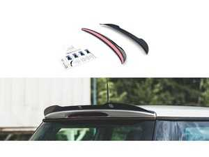 ES#4220278 - MC-ONE-1-CAP1C - Maxton Design Rear Spoiler Wing Extension - Carbon Fiber Design Look  - ABS plastic spoiler extension that will enhance the look of your vehicle in minutes! - Maxton Design - MINI