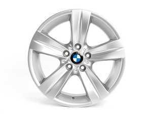 "ES#64914 - 36116768859 - 18"" Star Spoke Style 189 Wheel - Priced Each - 18x8.5 ET 37 72.6 CB - Genuine BMW - BMW"