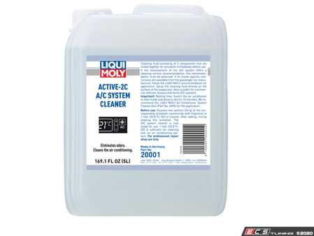 ES#4220235 - 20001 - Liqui-Moly Active-2C A/C System Cleaner - 5 Liters - Suitable for cleaning of air conditioning systems in cars, commercial vehicles, buses and in homes. - Liqui-Moly - Audi BMW Volkswagen MINI Porsche