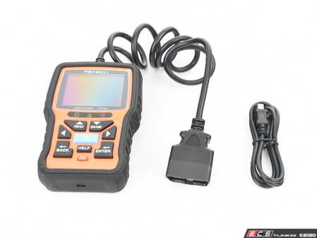 ES#3125811 - 019599SCH01A -  OBDII and EOBD Code Scanner - This code reader works with all OBDII/EOBD compliant cars and hybrid sold worldwide. Quick and easy to use. - Schwaben by Foxwell - Audi BMW Volkswagen Mercedes Benz MINI