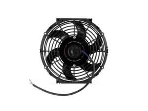 "ES#4265261 - MMFAN-10C - Mishimoto Universal Curved Blade Electrical Fan - 10"" - 950 CFM. High performance push or pull fan with curved blades. - Mishimoto - Audi BMW Volkswagen Mercedes Benz MINI Porsche"