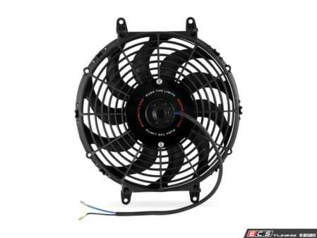 "ES#4265262 - MMFAN-12C - Mishimoto Universal Curved Blade Electrical Fan - 12"" - 1150 CFM. High performance push or pull fan with curved blades. - Mishimoto - Audi BMW Volkswagen Mercedes Benz MINI Porsche"