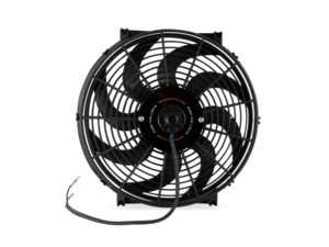 "ES#4265263 - MMFAN-14C - Mishimoto Universal Curved Blade Electrical Fan - 14"" - 1300 CFM. High performance fan with curved blades. - Mishimoto - Audi BMW Volkswagen Mercedes Benz MINI Porsche"