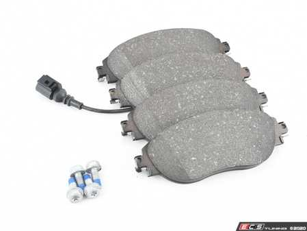 ES#3136042 - 8V0698151C - Front Brake Pad Set - Composite pads that are a great solution for your daily driver - ATE - Audi Volkswagen