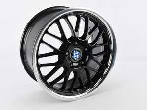 """ES#4265497 - SD1780BYM405120B - Beyern Wheel - Mesh Style - 17x8 - Black - ET40 *Scratch And Dent* - Set your BMW apart with these sport styled Mesh wheels! 17x8"""" ET40 5x120 72.56cb - Beyern Wheels - BMW MINI"""