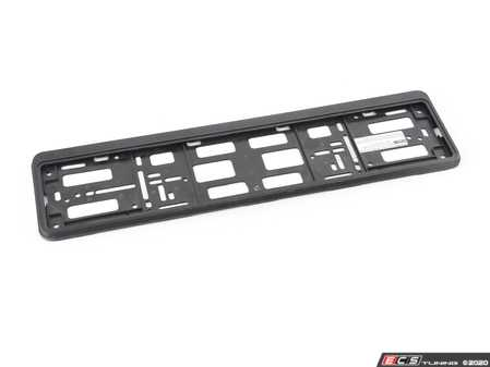 ES#3674395 - FRAM520FF - Universal EuroPlate License Plate Frame - Add the finishing touch to you EuroPlate. - Bavarian Autosport - BMW MINI
