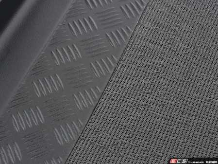 ES#3673792 - AS16511 - Non-Slip Trunk Liner - Black - Keeps cargo from sliding around and prevents spills and dirt from staining the trunk liner. - Bavarian Autosport - BMW