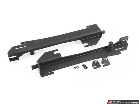 ES#3988199 - 024349ECS02 - MQB Intercooler Delete Bracket Kit - Effectively removes your stock intercooler when using a FMIC. Saves 6.0 pounds and increases airflow to the radiator. - ECS - Audi Volkswagen