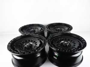 "ES#4265980 - FMFZEPHYR20SD - 20"" Custom Zephyr Wheels For VW Atlas - Set Of Four *Scratch And Dent* - *Please see description prior to ordering*  20""x9"" ET20 5x112 - Black - Fuel Off Road - Volkswagen"