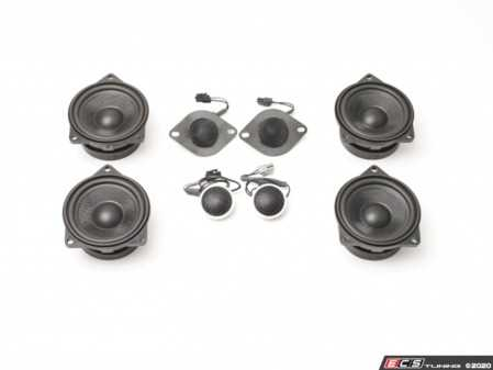 ES#4266131 - S1.E60E61.HF - BavSound Speaker Upgrade - E60/E61 - BavSound speakers are meticulously tuned for your BMW, and provide exceptional clarity, detail, and richness. - BavSound - BMW