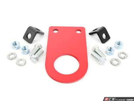 """ES#2839642 - E01X5INCH - Rennline Universal Race Tow Hook - 5 Inch - Each tow hook comes powder-coated red with (2) """"Tow"""" stickers. - Rennline - Audi BMW Volkswagen Mercedes Benz MINI Porsche"""