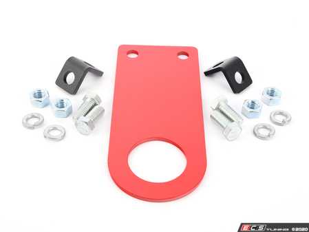 """ES#2839645 - E01X8INCH - Rennline Universal Race Tow Hook - 8 Inch - Each tow hook comes powder-coated red with (2) """"Tow"""" stickers. - Rennline - Audi BMW Volkswagen Mercedes Benz MINI Porsche"""