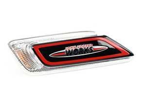 ES#3533647 - 63137448394 - JCW Side Turn Signal - Right - Add some JCW flare to the side scuttle - Genuine MINI - MINI