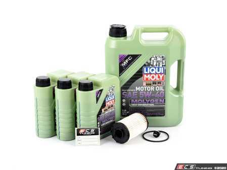 ES#4266289 - 06m198405f4KT - Oil Service Kit - Includes ECS Magnetic Drain Plug! - Assembled By ECS - Audi