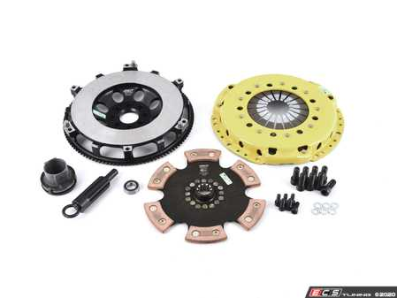 ES#3438022 - BM7-HDR6 - Heavy Duty Rigid 6-Pad Racing Clutch Kit With XACT Prolite Flywheel - Perfect for aggressive drag and road racing demands. Conservatively rated up to 505 ft/lbs torque capacity. - ACT - BMW