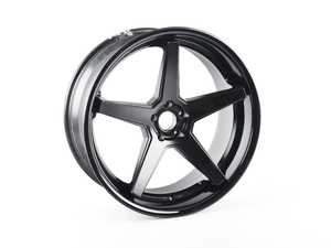 """ES#4271448 - FR322955112M5sd - 20"""" FR3 Style Wheel - Priced Each *Scratch And Dent* - 22""""x9.5"""" ET15 66.6CB 5x112 - Matte Black With Gloss Black Lip *Please see description Prior to ordering* - Ferrada Wheels - Audi Volkswagen"""