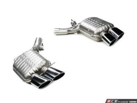 ES#4272264 - B5426.02104race - Eisenmann Race Muffler - Quad 77mm Oval Tips - F10 M5 - Eisenmann -