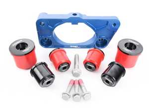 ES#4044494 - 026773tms03KT - Turner Dual-Mount Differential Plate - With ECS Poly Diff Bushings  - Pair the Turner Dual Mount Diff plate and ECS Poly Diff Bushing Kit to capitalize on dual rear mounts, improved bushing life, reduced wheel hop, increased handling, and crisper driveline response. - Turner Motorsport - BMW