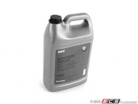 ES#196290 - 82141467704 - BMW Coolant / Antifreeze - 1 Gallon - 100% strength - dilute to a 50:50 ratio with distilled water - Genuine BMW - BMW