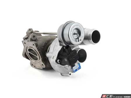ES#4351855 - 11657649496KT1 - MINI N18 JCW Turbo And Turbo Installation Kit - Used to install a new stock turbo, includes turbo, both types of the 3 point triangular gaskets, use only one. Includes all oil and coolant lines, studs, and Liqui Moly sealant - Assembled By ECS - MINI