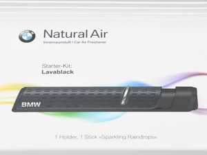 ES#4212538 - 83125A07EC3 - Natural Air Starter Kit - Lavablack - Improve your driving experience with BMW's Natural Air air freshener kit! - Genuine BMW - BMW