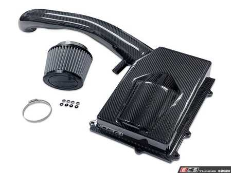 ES#4304930 - 034-108-1016 - X34 Carbon Fiber Intake  - Horsepower and torque gains throughout the powerband, with peak gains of up to 16 crank horsepower and 13 ft-lbs of torque on stock turbo tunes, and over 35 crank horsepower and 24 ft-lbs with an upgraded turbocharger. - 034Motorsport - Audi