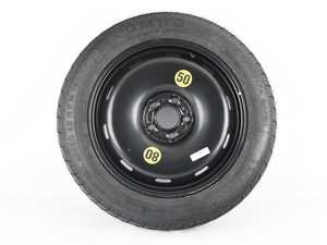 """ES#4001168 - 36116851507kt - 17"""" Emergency Spare Wheel/Tire Set - Includes Genuine BMW/MINI 17x3.5"""" ET18 steel wheel with mounted and balanced Kumho 135/90/17 tire. - Assembled By ECS - BMW MINI"""