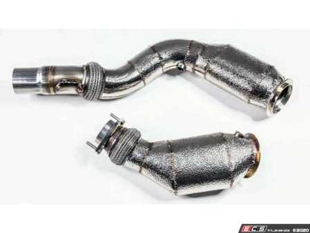 ES#4305294 - 1301055450 - S55 Catted Downpipes w/ 200 Cell Sport Cat - F8X M3/M4/M2C - Increase the overall power at your foot with these upgraded performance downpipes from racing dynamics. Racing Dynamics has been a huge part of the European community since the early 80's! - Racing Dynamics - BMW