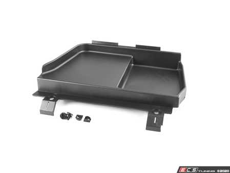 ES#4213501 - 51478193803KT - Battery Compartment Cover - With Hardware  - Includes new fasteners and frame rail inserts - Assembled By ECS - BMW