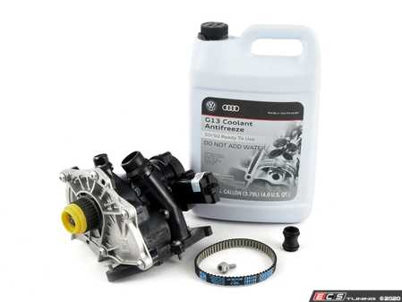 ES#3551351 - 06l121111hKT1 - Thermostat / Water Pump Replacement Kit - Includes necessary parts to replace the thermostat - Assembled By ECS - Volkswagen