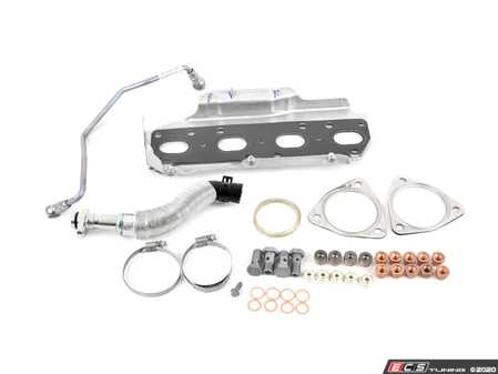 ES#4220295 - 11652444367KT - Installation Kit For Turbo - Full Kit - Used to install a new stock turbo, includes both types of the 3 point triangular gaskets, use only one - Assembled By ECS - MINI