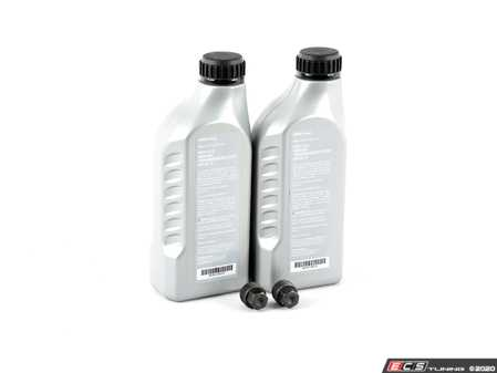 ES#4159343 - 83222339219KT - Transmission Service Kit - Featuring Genuine MTF LT-2 fluid and drain/fill plugs - Assembled By ECS - BMW