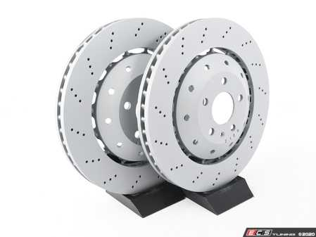 ES#4067243 - 420615301d2KT - Front Brake Rotors - Pair (365x34) - Restore the stopping power in your vehicle - Zimmermann - Audi
